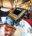 Процесс ультразвукового контроля с использованием дефектоскопа Starmans DIO 1000 sfe