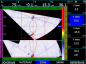 Построение B-скана хода лучей с учетом толщины контролируемого материала и геометрии сварного шва